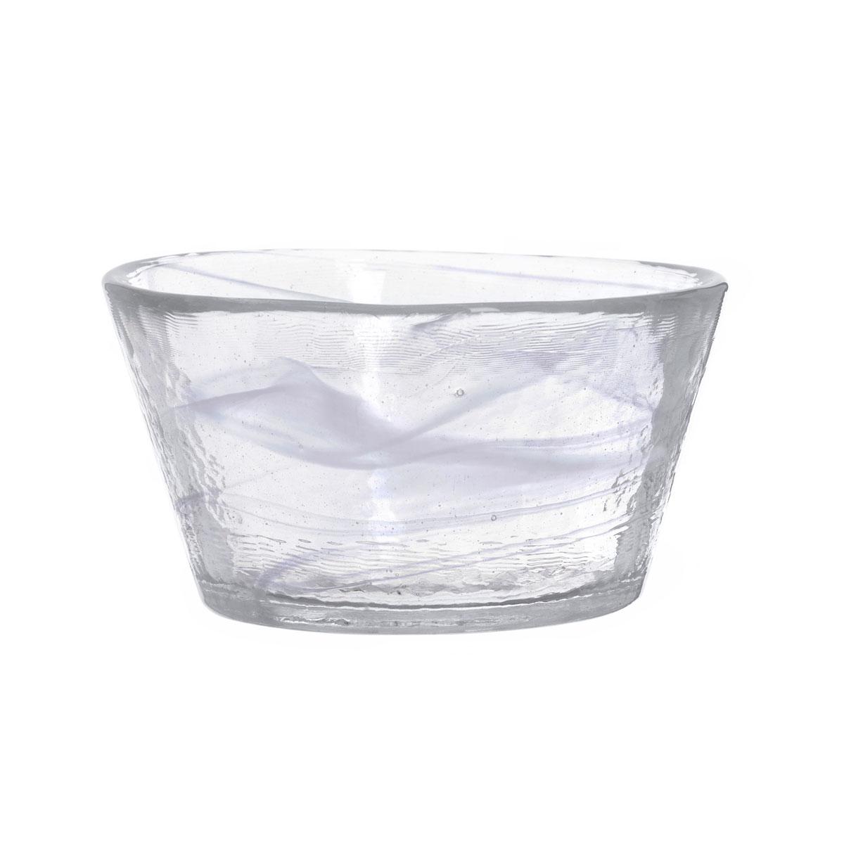 "Kosta Boda Crystal Mine White 5.25"" Bowl"