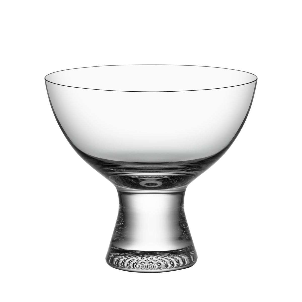 Kosta Boda Limelight Footed Dessert Bowl