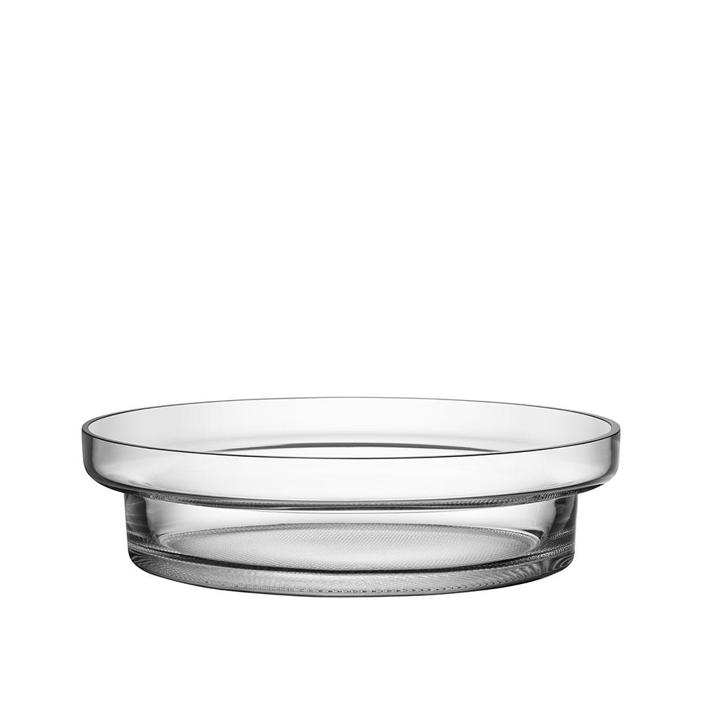 Kosta Boda Limelight Low Bowl Clear
