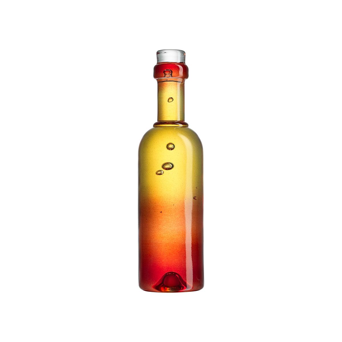 Kosta Boda Celebrate Crystal Wine Bottle, Red