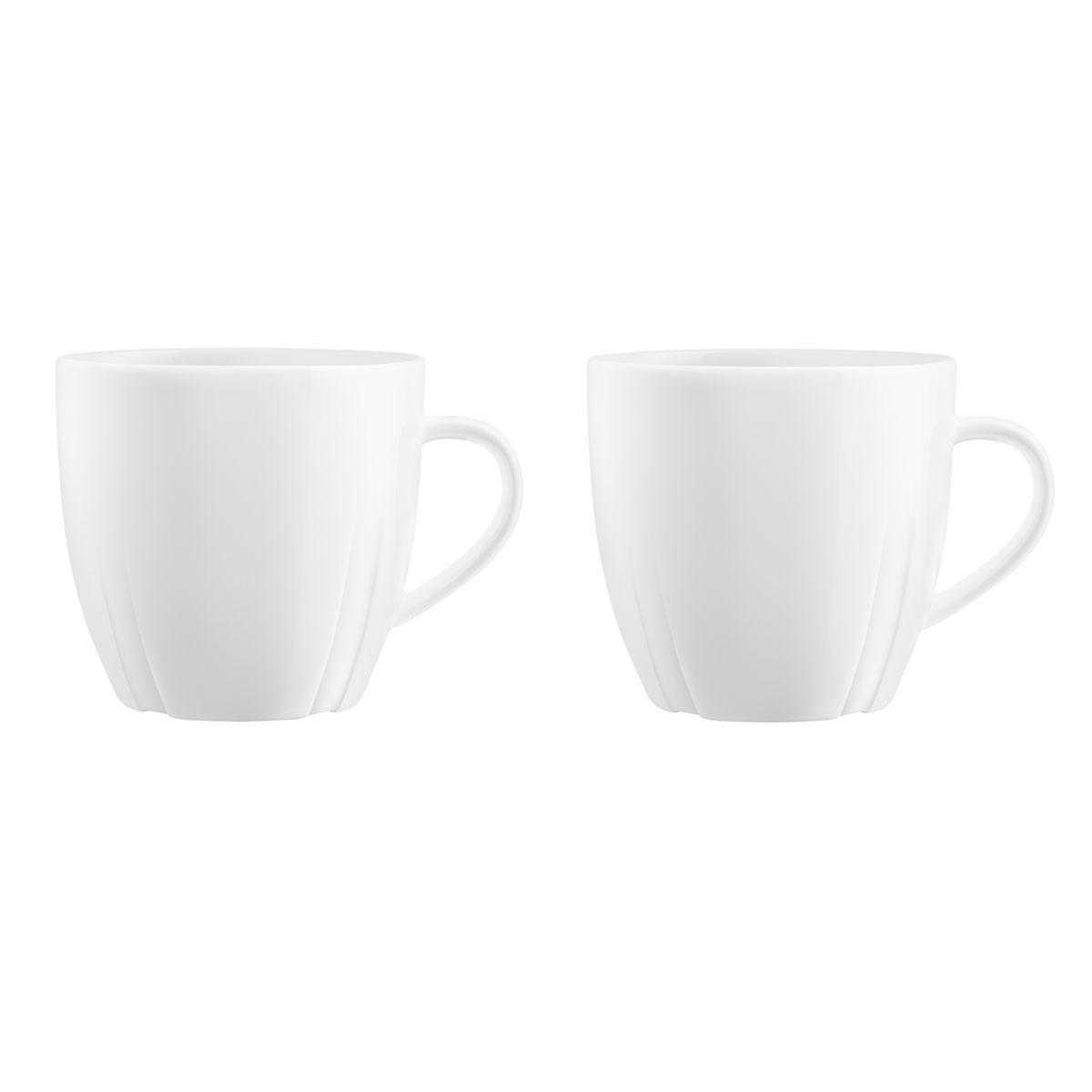 Kosta Boda Bruk Tea Mug, Pair
