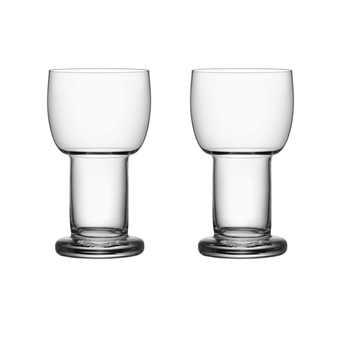 Kosta Boda Picnic Large Glasses Pair