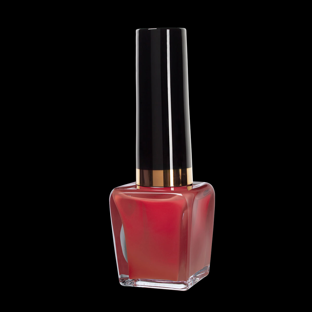 Kosta Boda Art Glass Make Up, Nail Polish Red