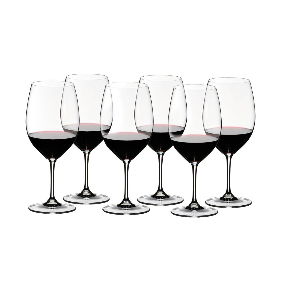 Riedel Vinum Cabernet Sauvignon Glasses, Set of 6