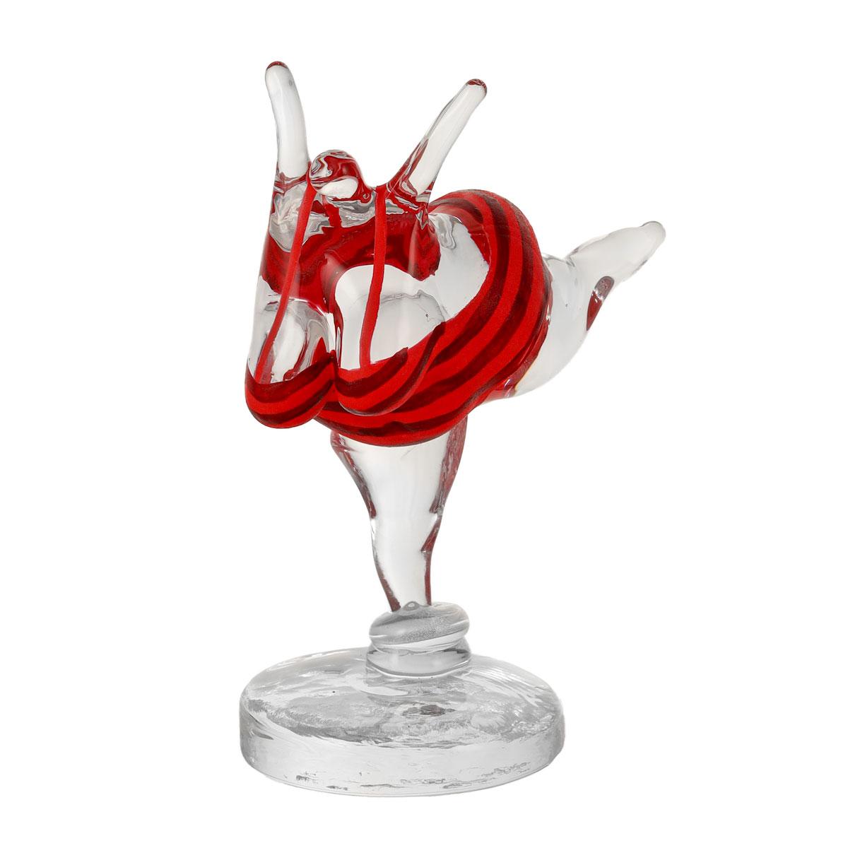 Kosta Boda Happiness Red Figure