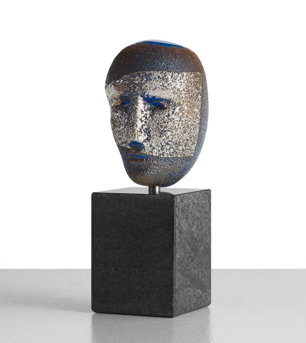Kosta Boda Art Glass Bertil Vallien Freja Sculpture, Limited Edition