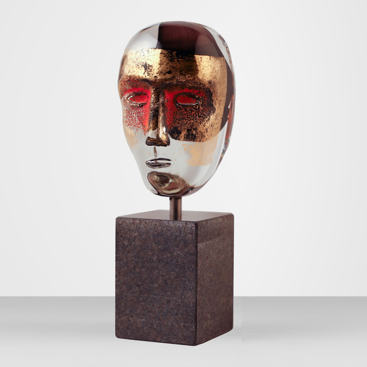 Kosta Boda Brains on Stone Hefaistos Limited Edition 500