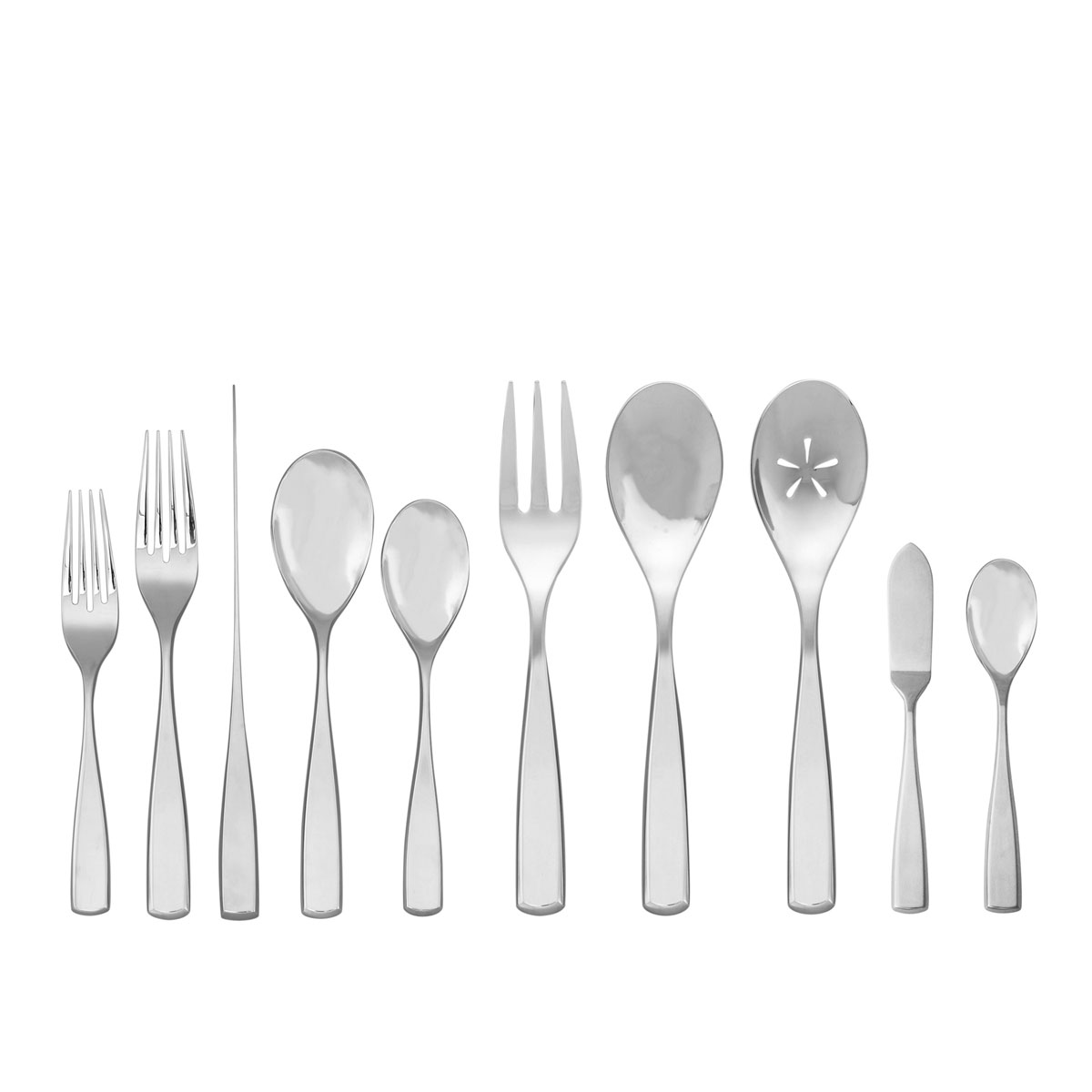 Nambe Anna 45 Piece Flatware Set