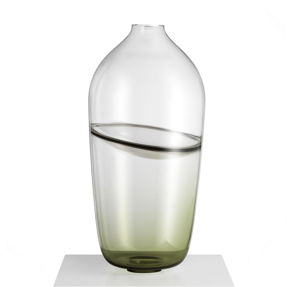 Kosta Boda Art Glass Mattias Stenberg Septum Vase Limited Edition of 50