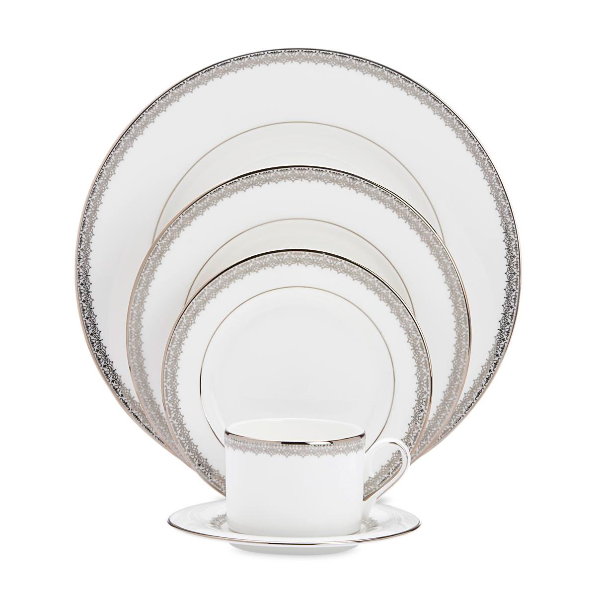 Lenox China Lace Couture, 5 Piece Place Setting