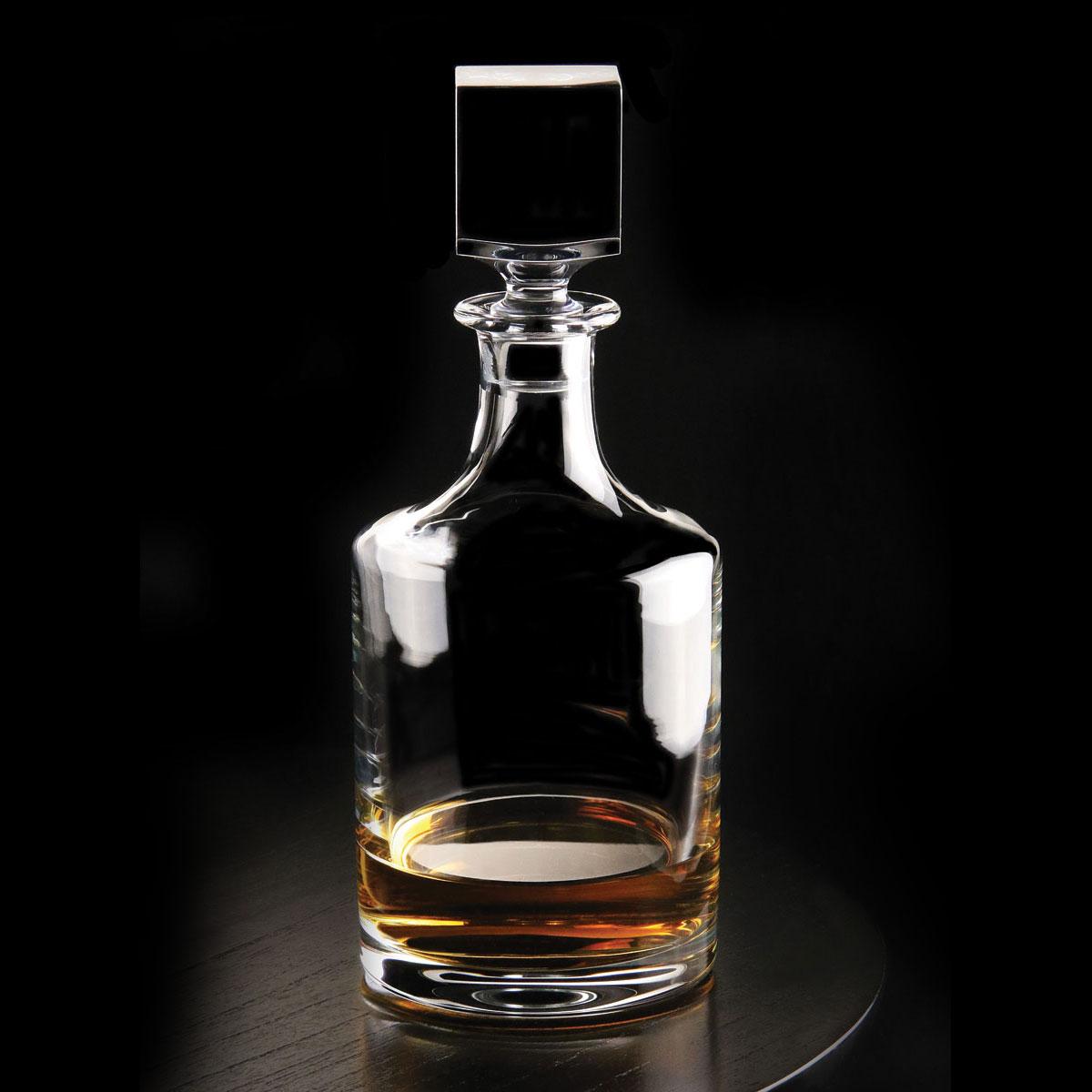 Cashs Ireland, Grand Cru Handmade Crystal Whiskey Decanter