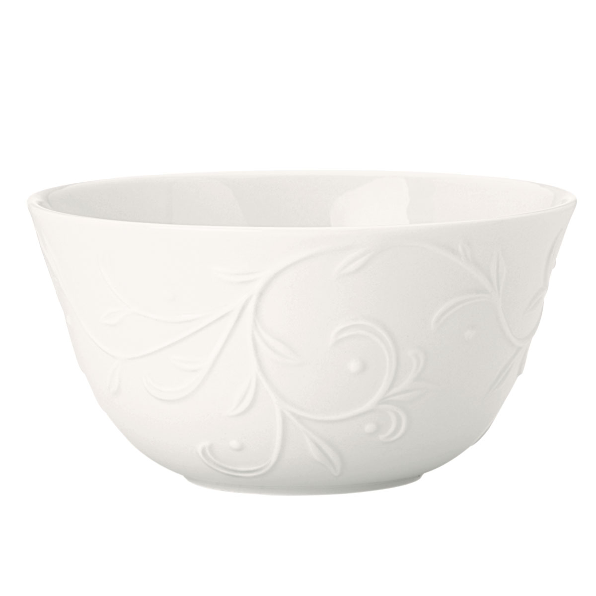 Lenox Opal Innocence Carved Dinnerware Fruit Bowl