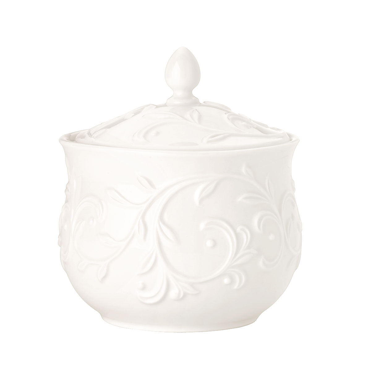 Lenox Opal Innocence Carved Dinnerware Sugar Bowl