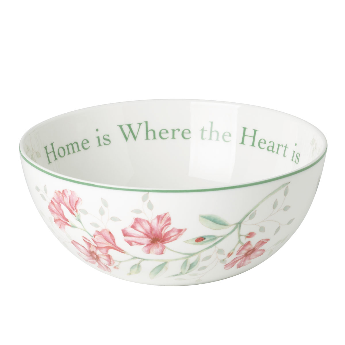 Lenox Butterfly Meadow Dinnerware Sentiment Bowl