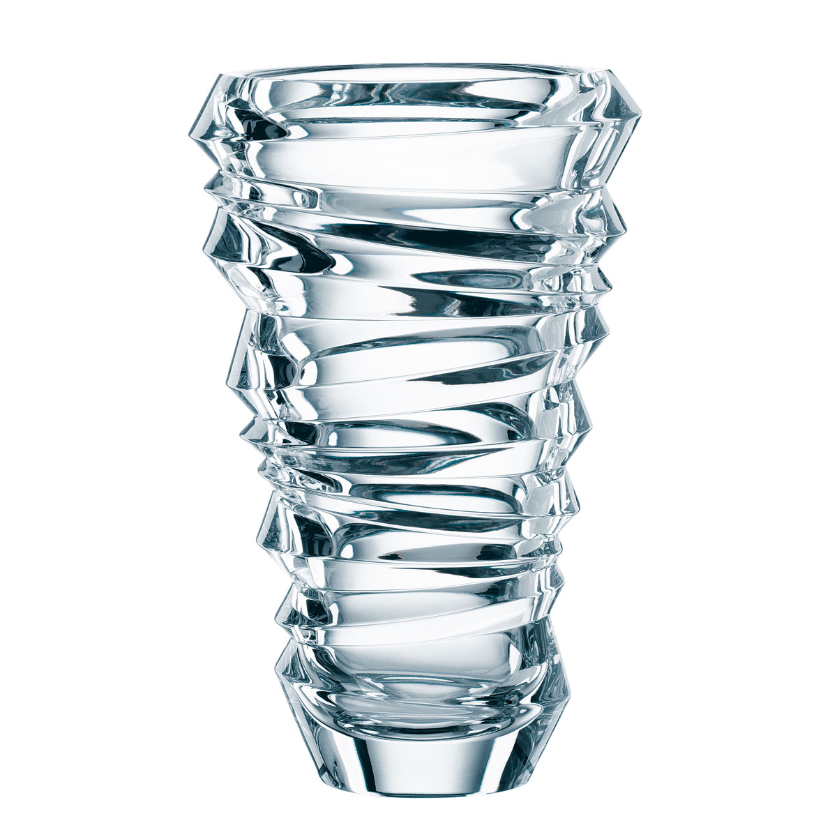 "Nachtmann Slice 9 1/2"" Vase"