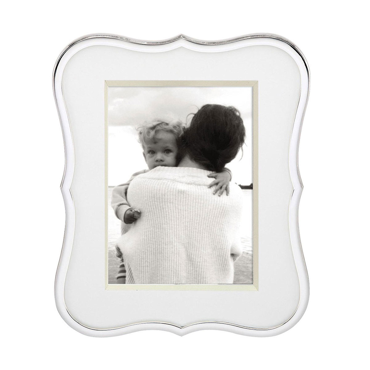 """Lenox kate spade Crown Point 5x7"""" Picture Frame"""