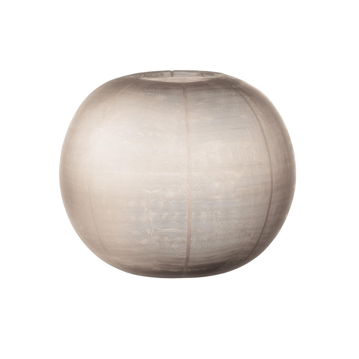 Lenox Donna Karan Artisan Glass, Icicle, Etched Grand Globe