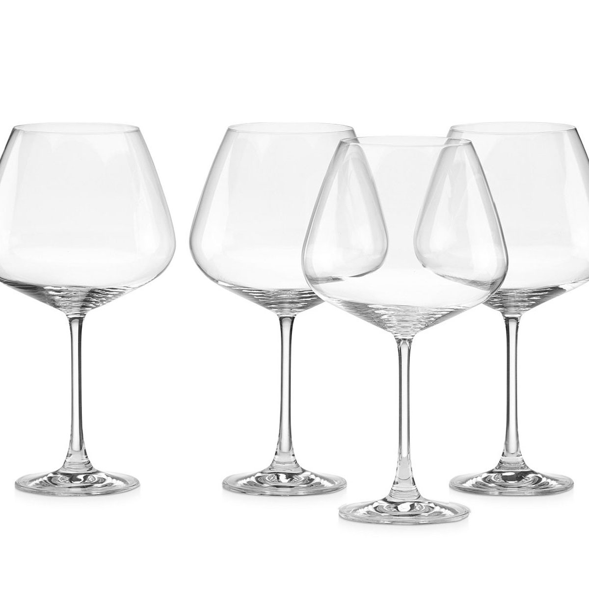 Lenox Tuscany Classics, Crystal Burgundy, Set of 4