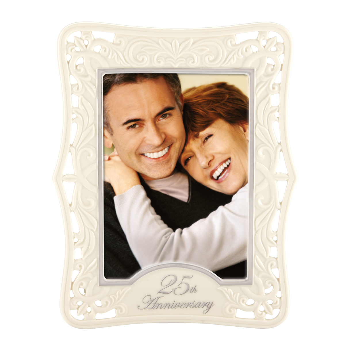"Lenox 25th Anniversary 5X7"" Picture Frame"