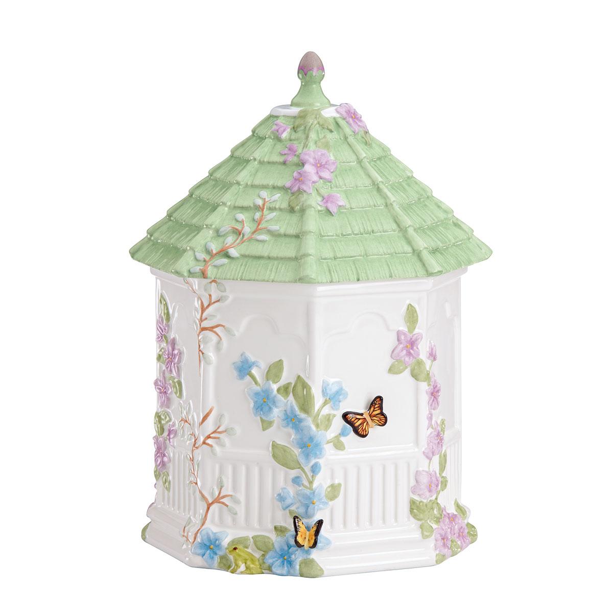 Lenox Butterfly Meadow Dinnerware Gazebo Cookie Jar