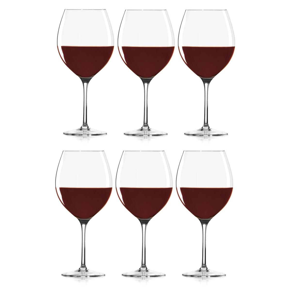 Lenox Tuscany Classics, Crystal Classic Crystal Red Wine, Set of 6