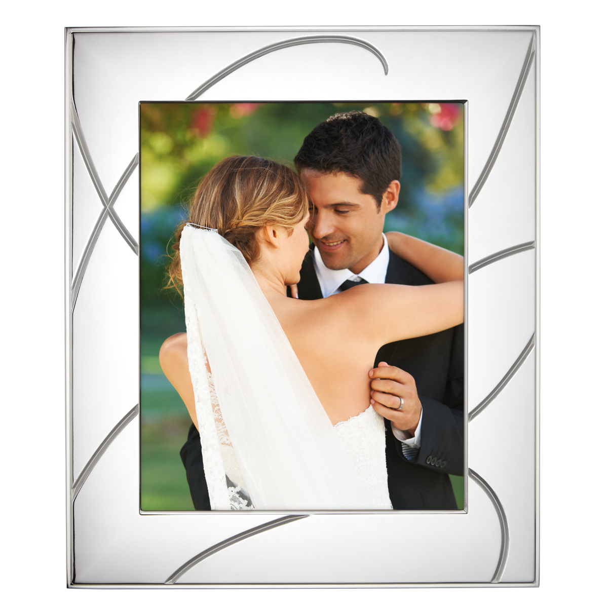 "Lenox Adorn Metal 8 x 10"" Picture Frame"