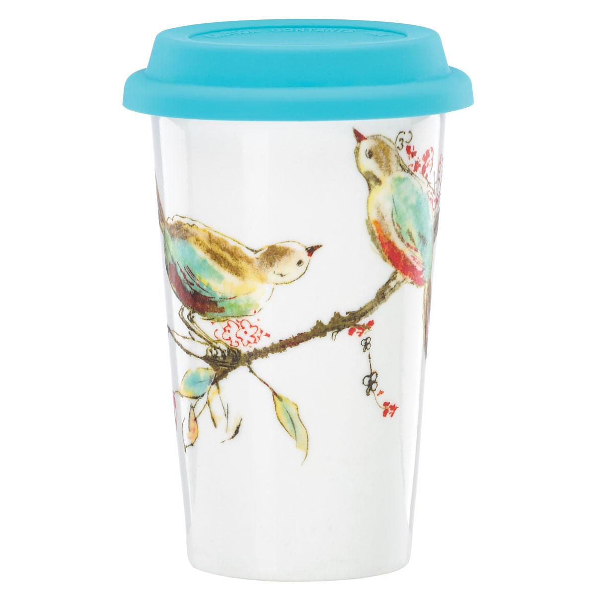 Lenox Chirp Dinnerware Thermal Travel Mug
