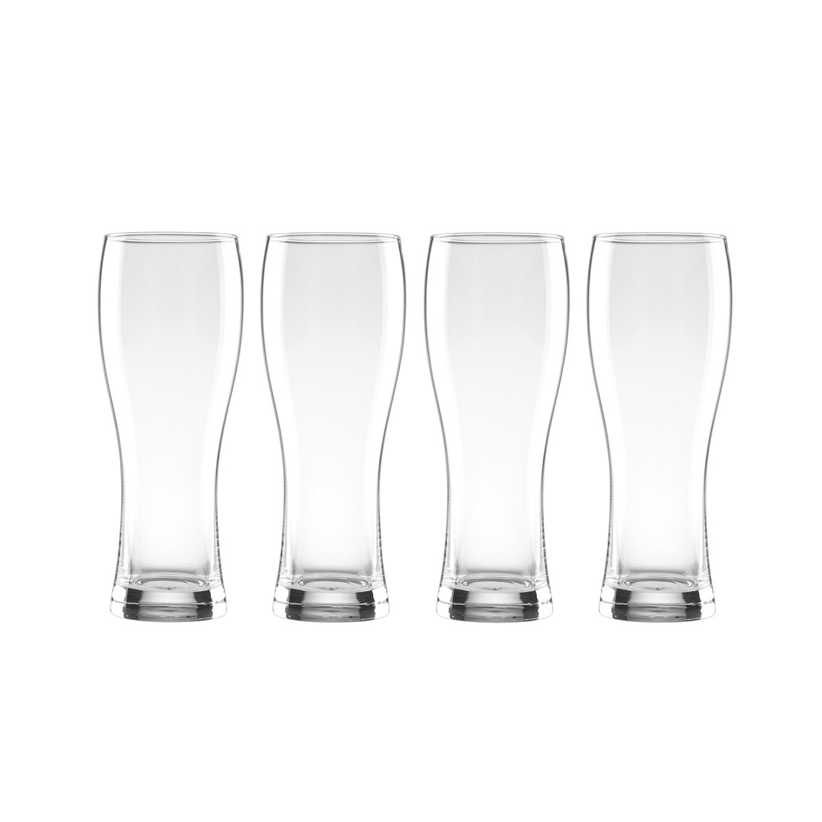 Lenox Tuscany Classics, Crystal Craft Crystal Beer Wheat Crystal Beer, Set of 4