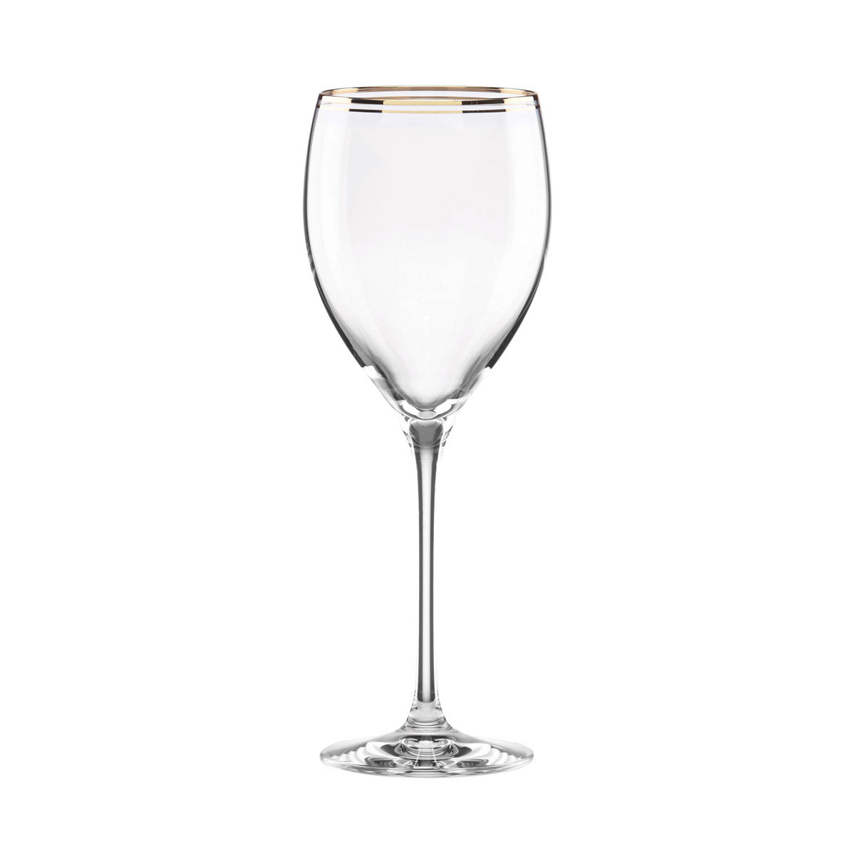 Kate Spade New York, Lenox Orleans Square Gold Crystal Goblet, Single