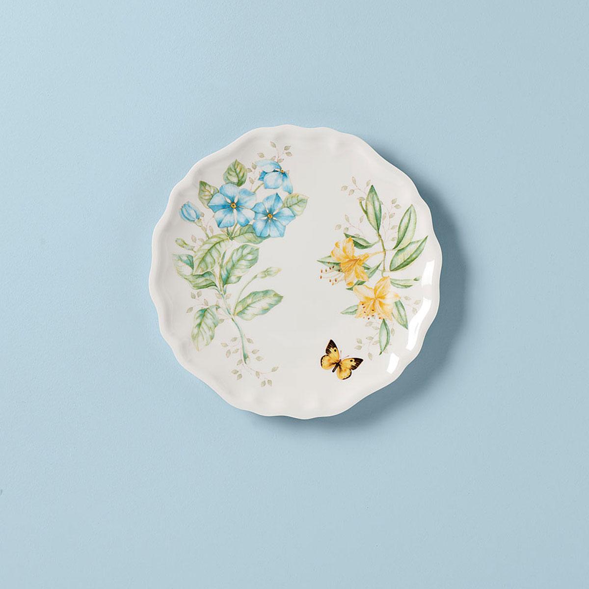 Lenox Butterfly Meadow Melamine Dinnerware Dinner Plate