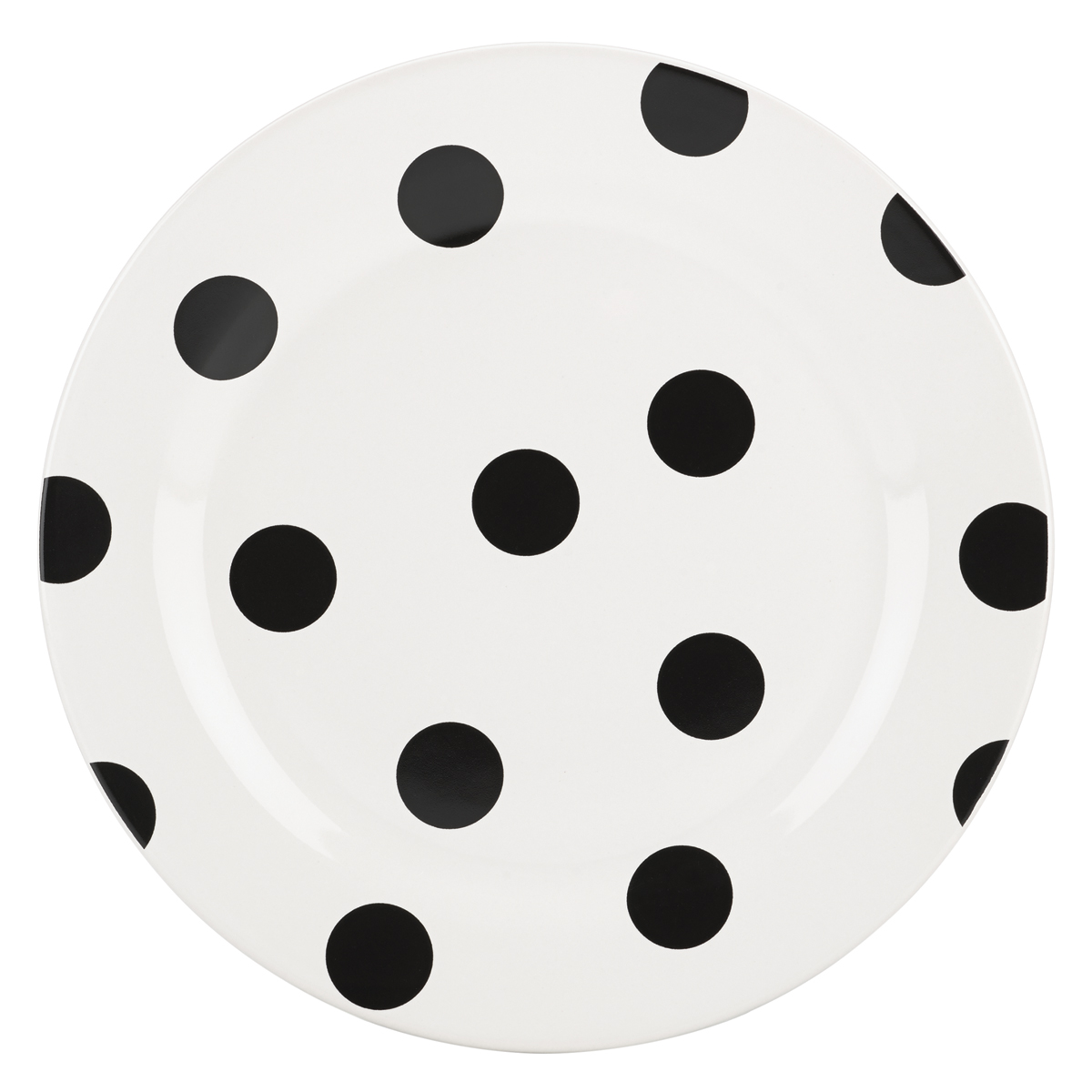 Kate Spade China by Lenox, Deco Dot Accent Plate