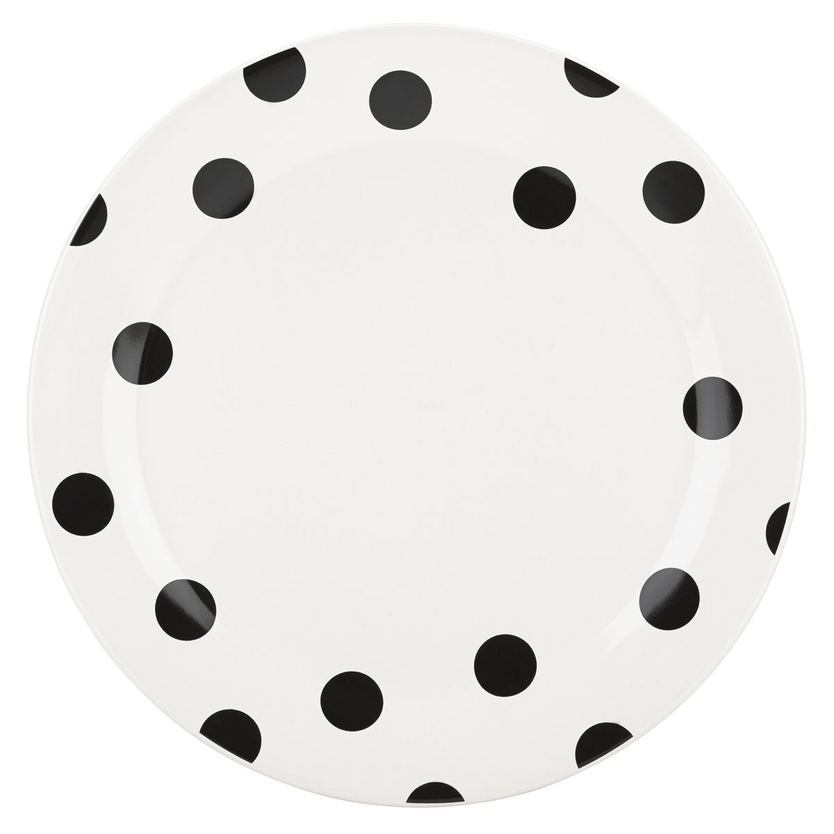 Kate Spade China by Lenox, Deco Dot Dinner Plate