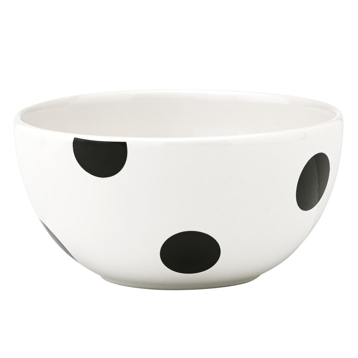 Kate Spade China by Lenox, Deco Dot Fruit Bowl