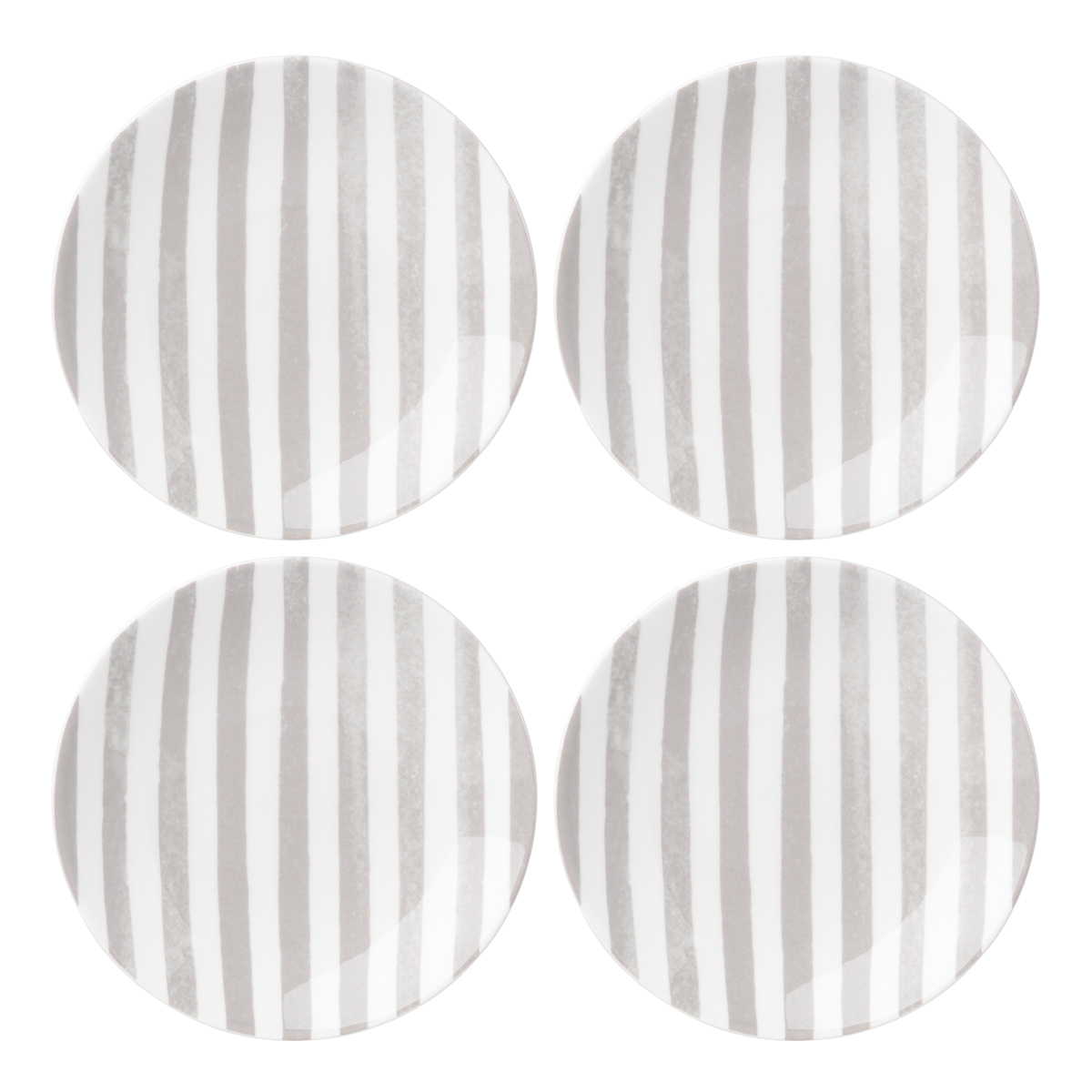 Kate Spade China by Lenox, Charlotte St Grey Tidbit Set Of Four