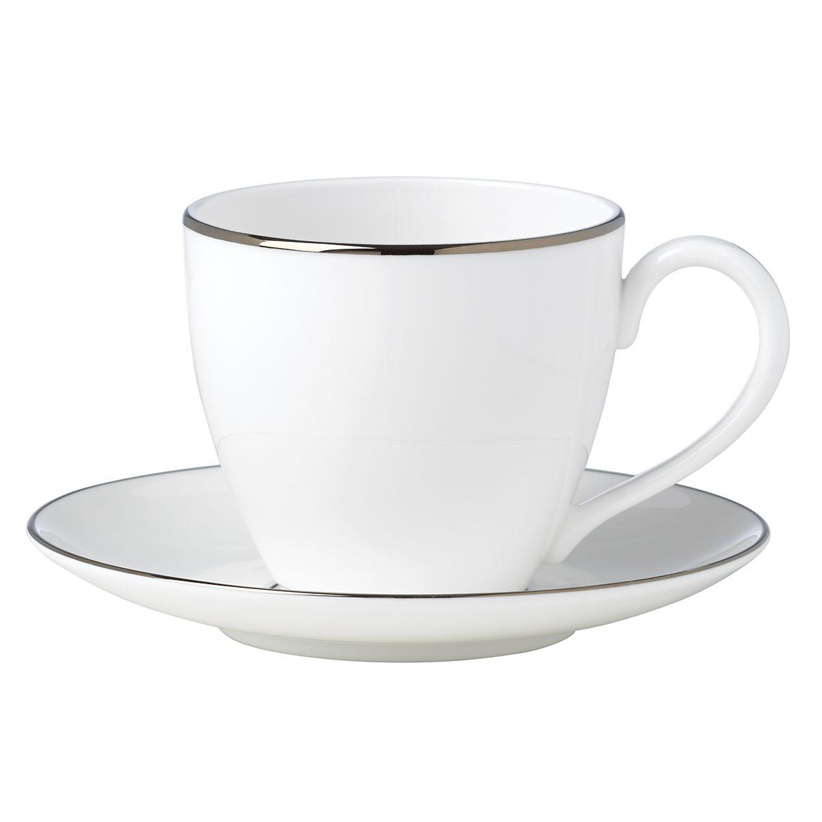 Lenox Continental Dining Platinum Dinnerware Tea Cup And Saucer