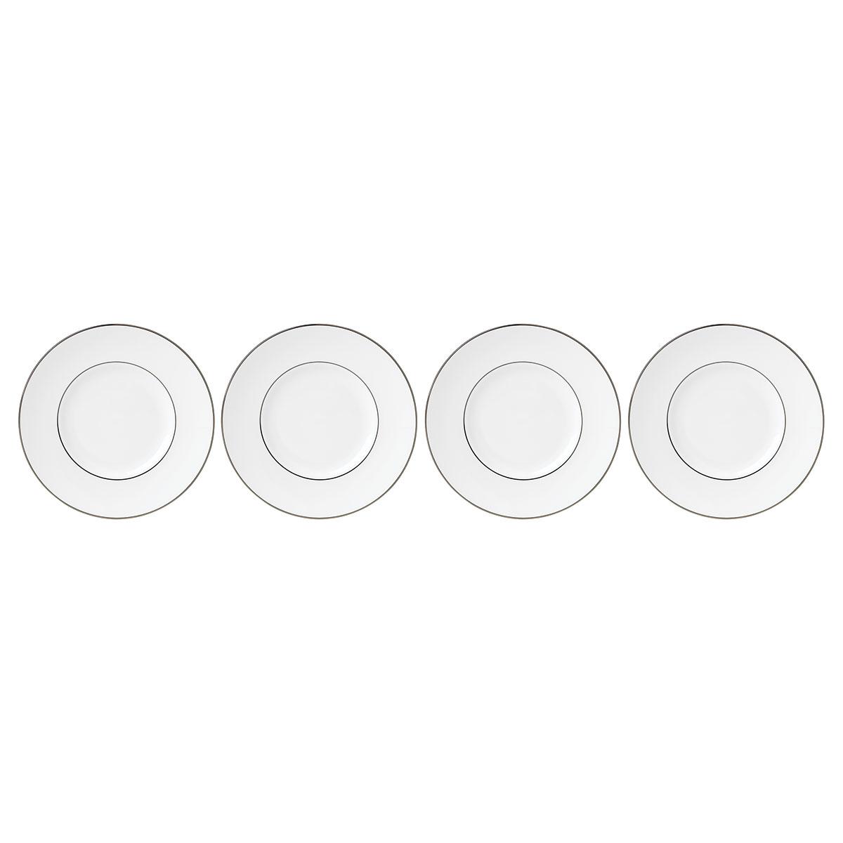 Lenox Continental Dining Platinum Dinnerware Tidbit Set Of Four