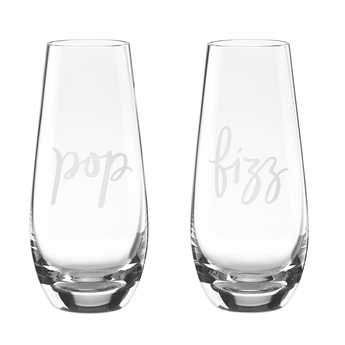 Kate Spade New York, Lenox Stemless Champagne Pop Fizz Pair