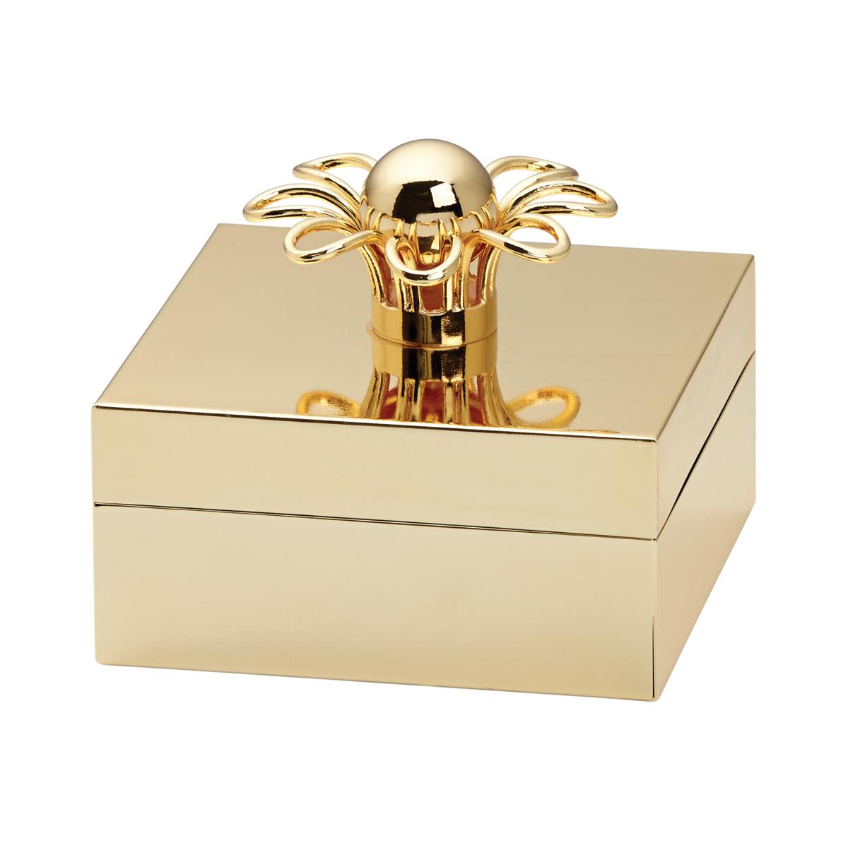Kate Spade New York, Lenox Keaton St Metal Jewelry Box Gold
