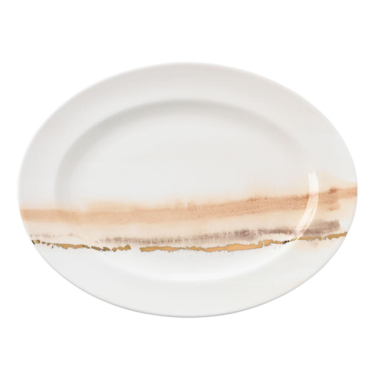 "Lenox Fall Radiance Dinnerware Oval Platter 16"""