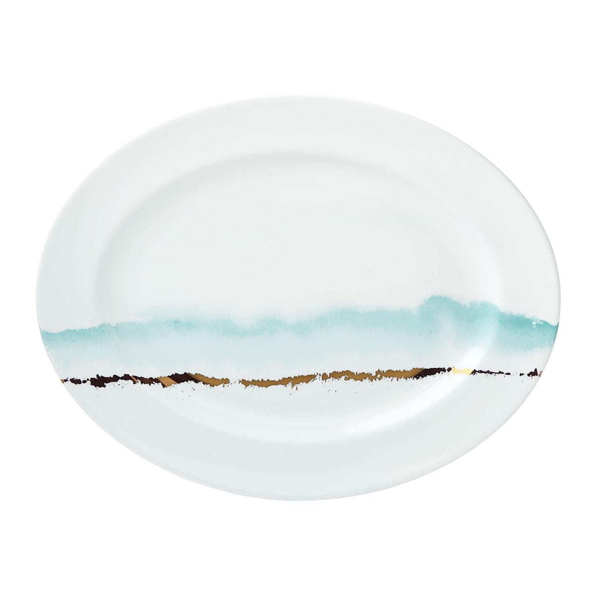"""Lenox Spring Radiance Dinnerware Oval Platter 16"""""""