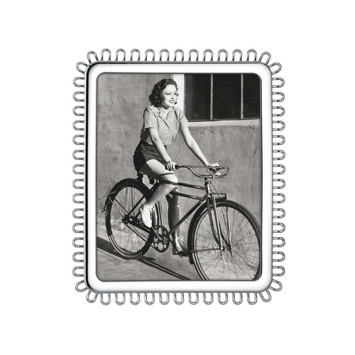 "Kate Spade New York, Lenox Keaton Street Silver 8x10"" Frame"