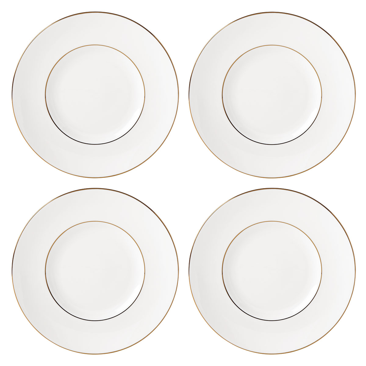 Lenox Continental Dining Gold Dinnerware Tidbit Set Of Four