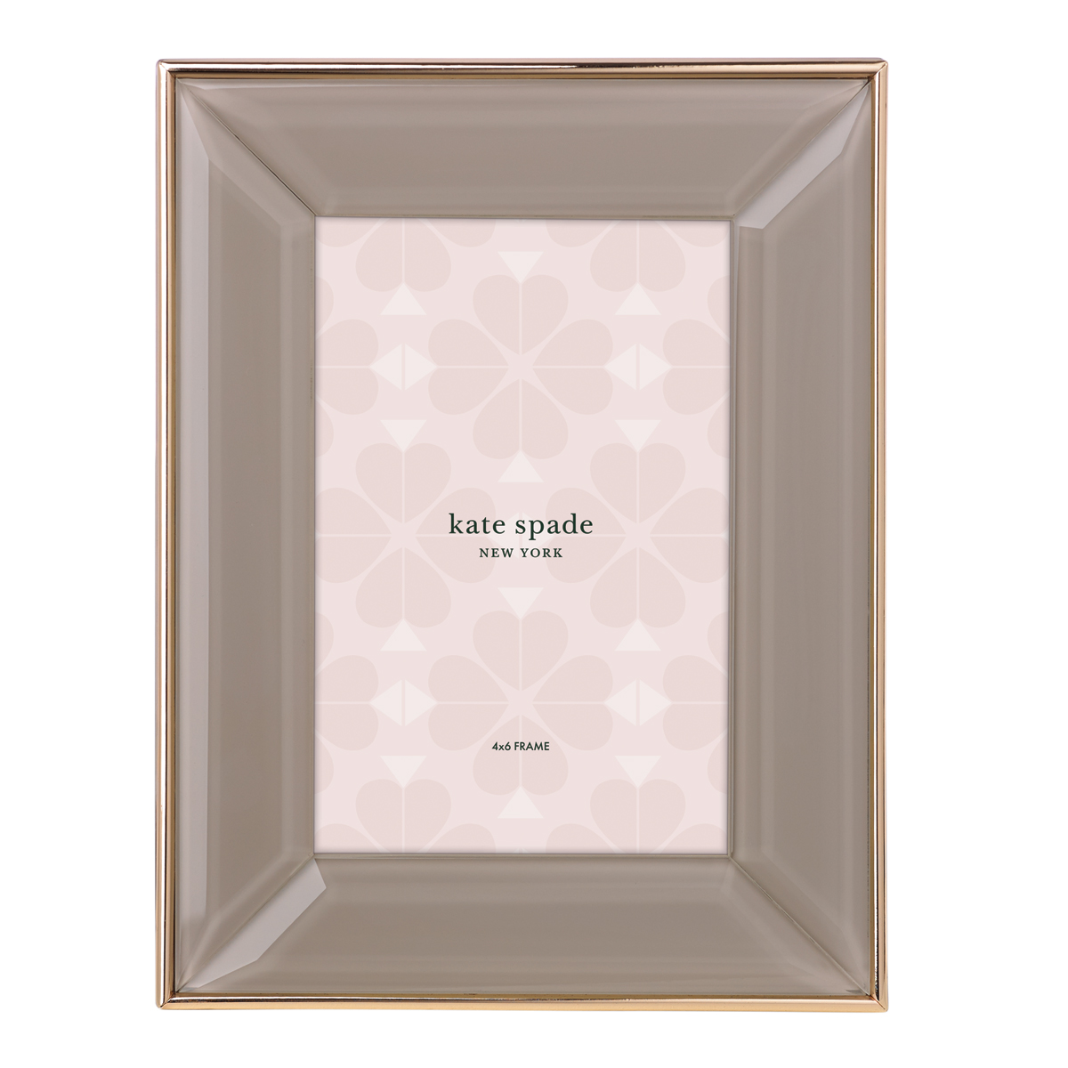 "Kate Spade New York, Lenox Charles Lane Camel 4x6"" Frame"