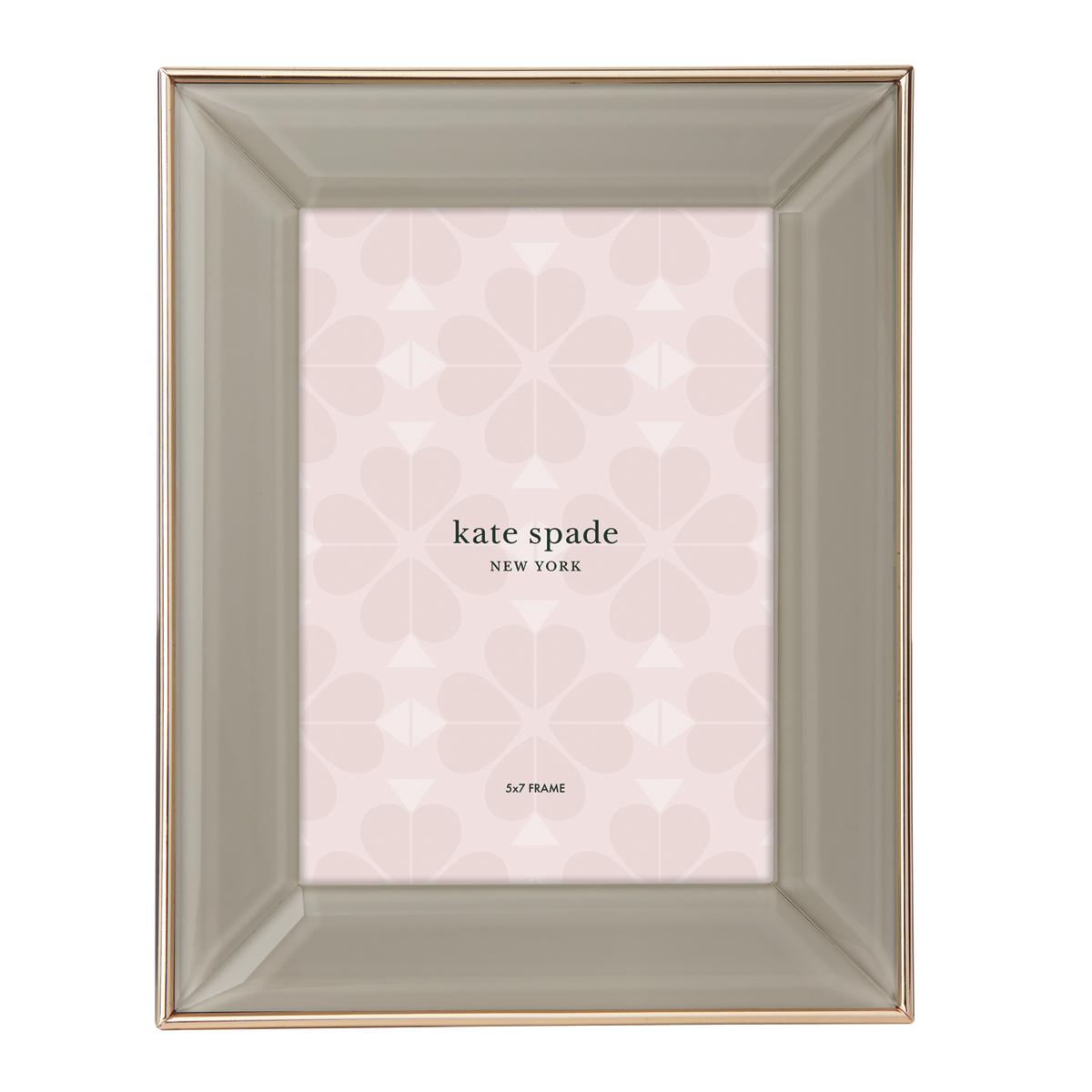 "Kate Spade New York, Lenox Charles Ln Camel 5x7"" Frame"