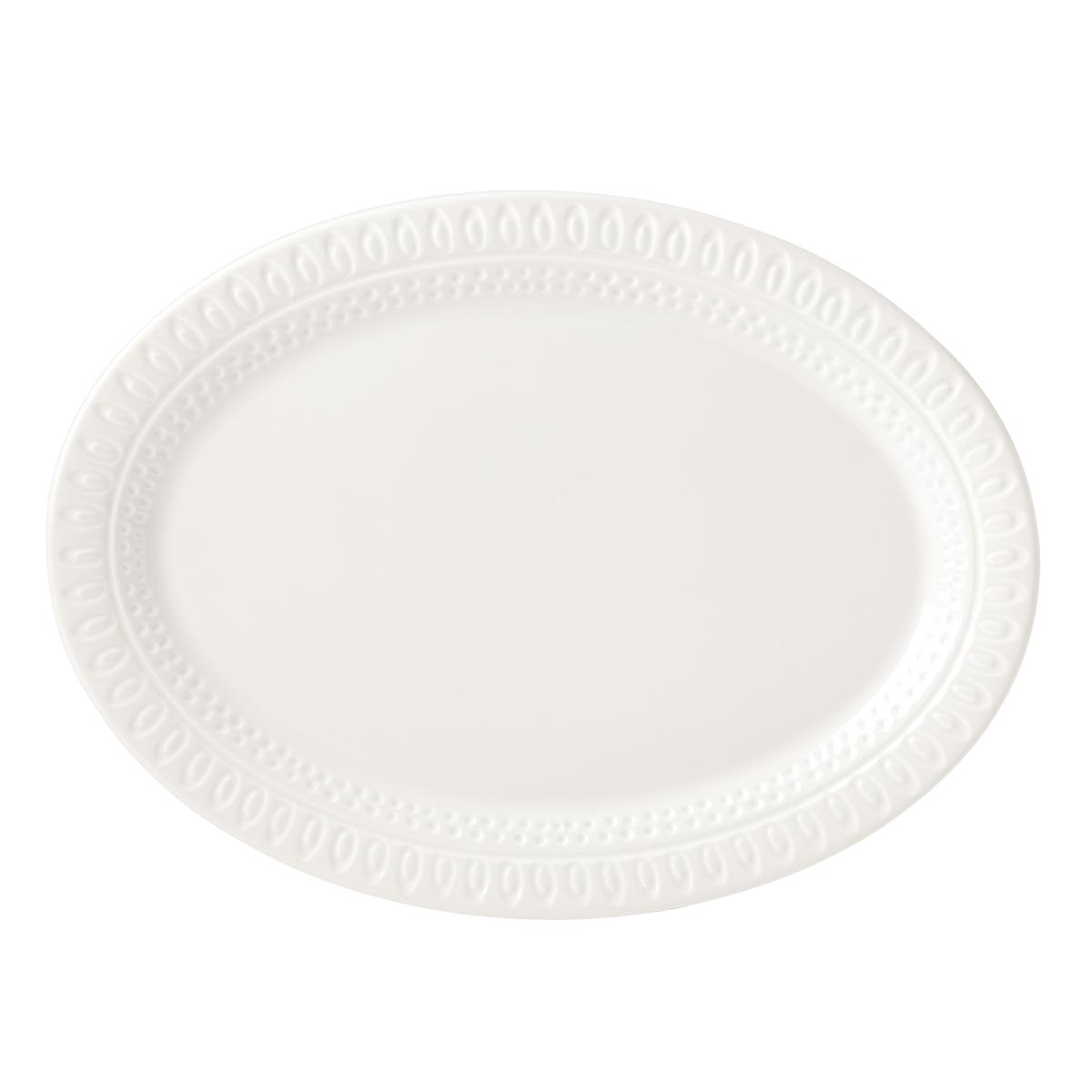 Kate Spade China by Lenox, Stoneware Willow Drive Cream Platter