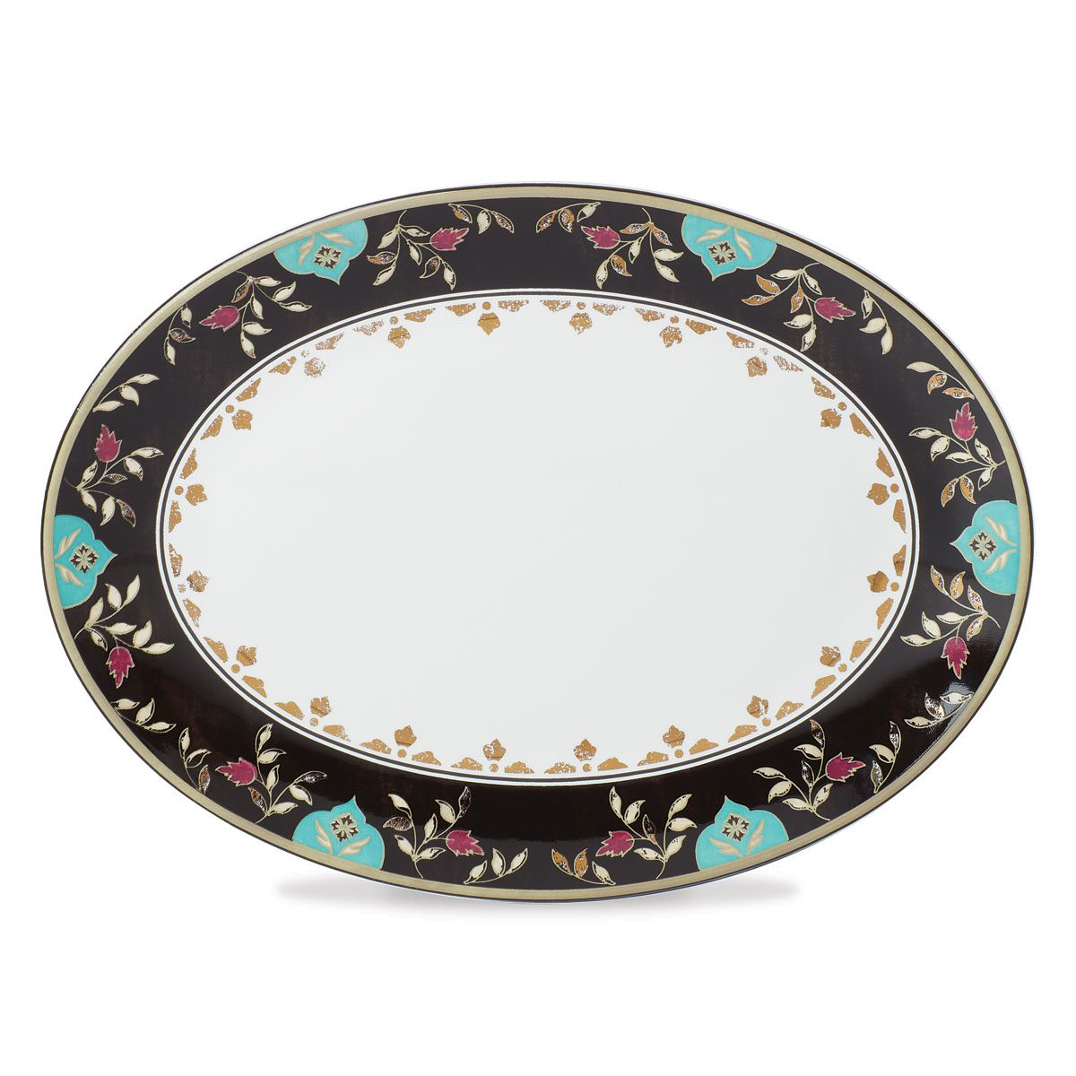 Lenox Global Tapestry Garnet Dinnerware Platter