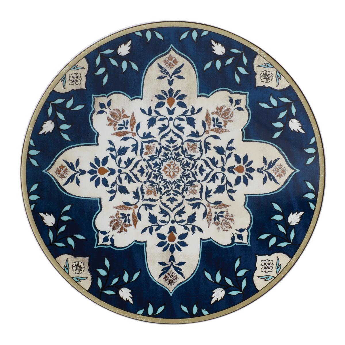 Lenox Global Tapestry Sap Mandala Dinnerware Accent Plate, Single
