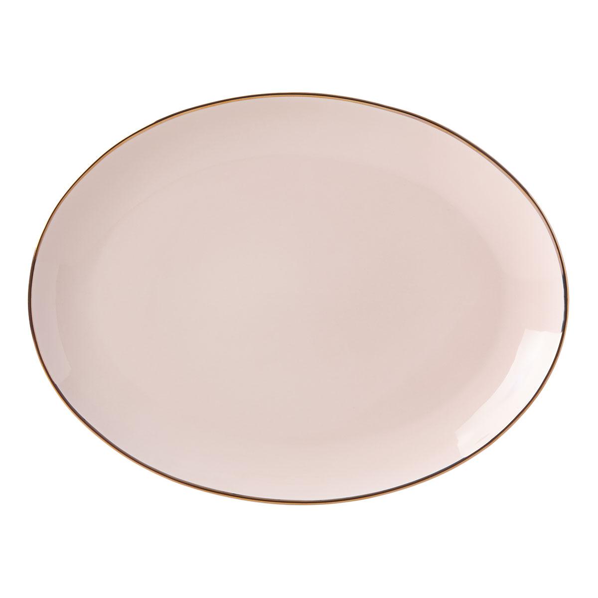 Lenox Trianna Blush Dinnerware Oval Platter