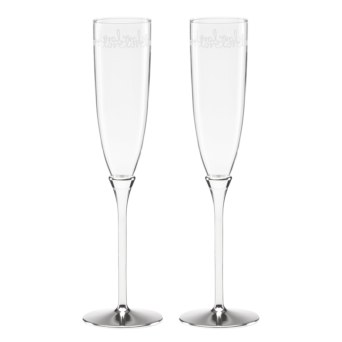 Kate Spade New York, Lenox Key Court Toasting Flutes, Set of 2