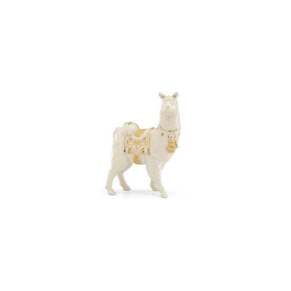 Lenox China First Blessing Nativity Llama Sculpture
